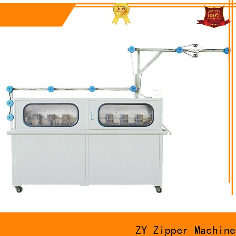 Zhenyu High-quality china zipper machine factory for apparel industry