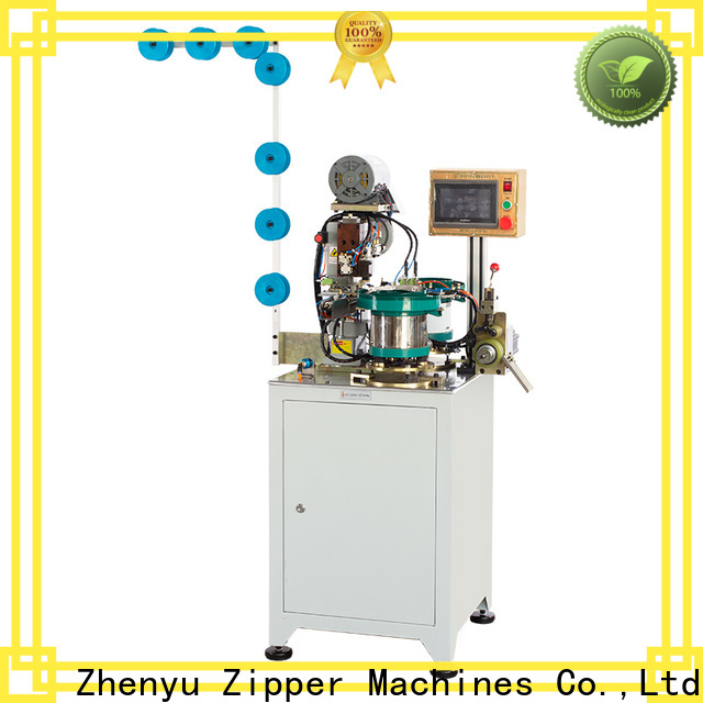 Zhenyu News zipper pin box machine bulk buy for apparel industry