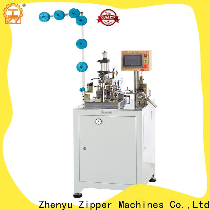 Zhenyu nylon zipper making machine company for zipper manufacturer