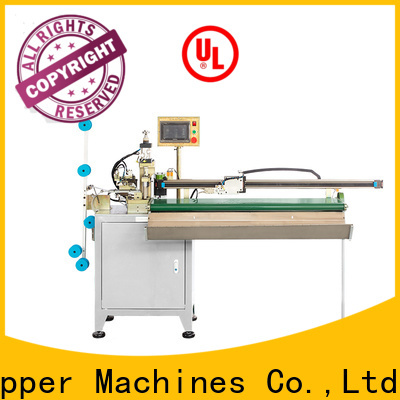 Top automatic plastic zipper cutting machine for business for apparel industry