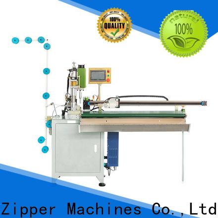 Zhenyu Wholesale zipper open end cutting machine factory for zipper production