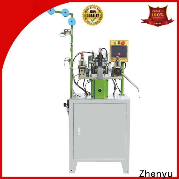 Zhenyu Custom metal zipper stripping machine manufacturers for apparel industry