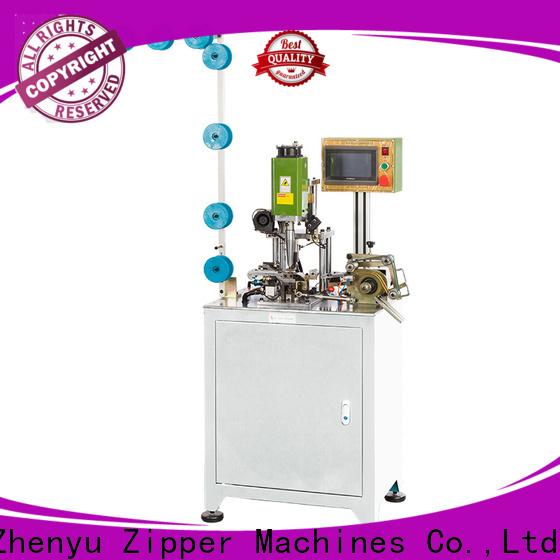 Zhenyu zipper U type top stop machine manufacturers for zipper production