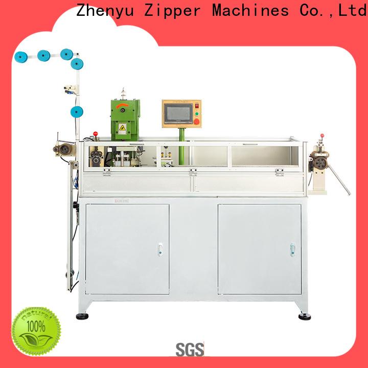 Zhenyu Top auto gapping machine for nylon zipper factory for zipper production