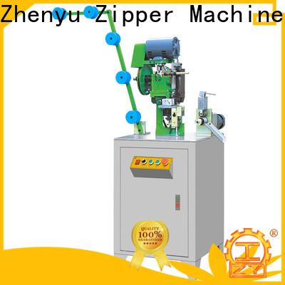 Zhenyu Wholesale metal zipper bottom stop machine bulk buy for zipper production