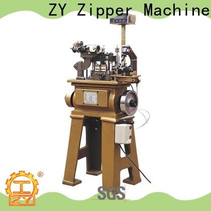 Best zipper plastic teeth making machine factory for apparel industry