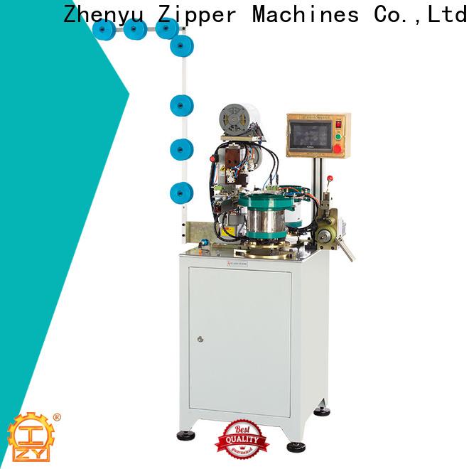 Custom open end zipper insertion pin machine bulk buy for zipper production